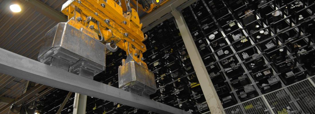 Hochregallager - ERP Software und Warenwirtschaft für Stahl Anarbeit, Fertigung, Handel